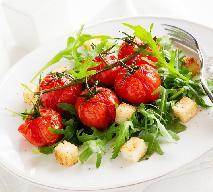 Sałatka z grillowanymi pomidorami