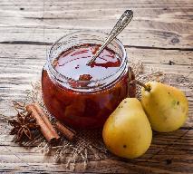 Konfitura z gruszek i karmelu z wanilią
