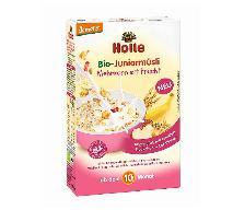 Pełnoziarnista kaszka-musli Junior 100 % Bio od HOLLE - dla dzieci i nie tylko
