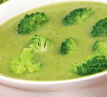 Krem brokułowy z imbirem