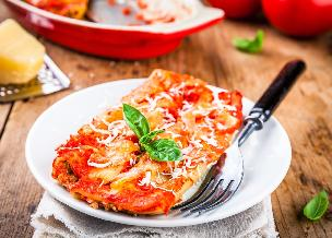 Rurki cannelloni z mięsem mielonym i papryką