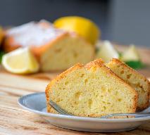 Babka piaskowa cytrynowa - orzeźwiające ciasto na Wielkanoc [WIDEO]