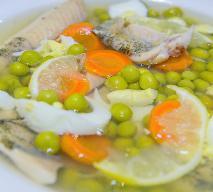 Ryba z groszkiem - pyszna przekąska na zimno